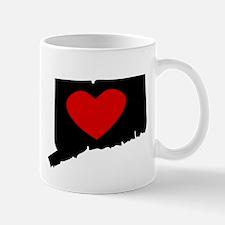 Connecticut Heart Mugs