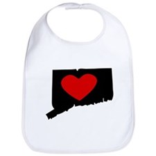 Connecticut Heart Bib