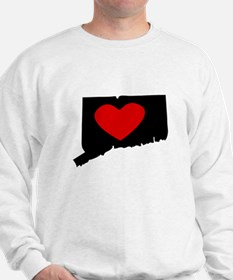 Connecticut Heart Sweatshirt