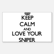 Keep Calm and Love your Sniper Decal