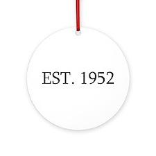 Est 1952 Ornament (Round)