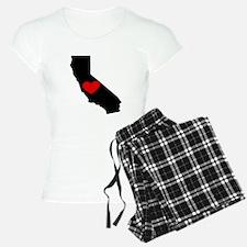California Heart Pajamas
