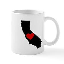 California Heart Mugs