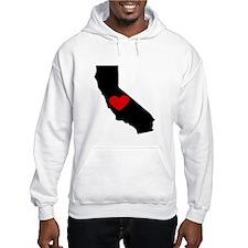 California Heart Hoodie