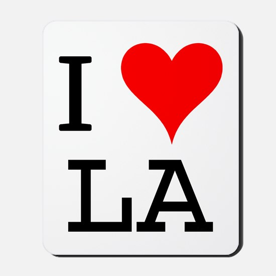 I Love LA Mousepad