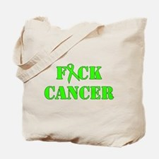 F*ck Cancer Lime Tote Bag