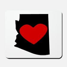 Arizona Heart Mousepad