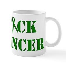 F*ck Cancer Green Mug