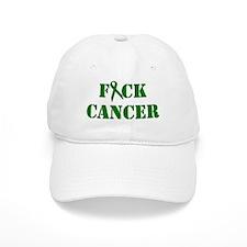 F*ck Cancer Green Baseball Baseball Cap