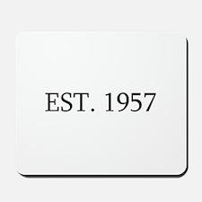 Est 1957 Mousepad
