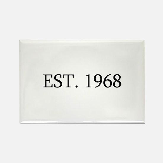 Est 1968 Magnets