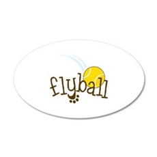 Flyball Wall Decal