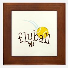 Flyball Framed Tile