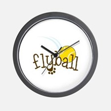 Flyball Wall Clock