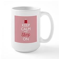Keep Calm and Shop On Mugs
