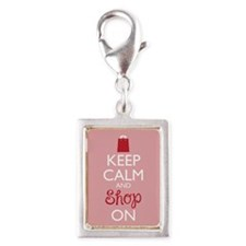 Keep Calm and Shop On Charms