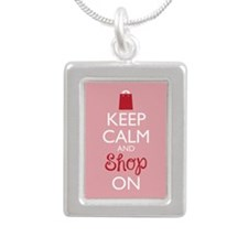 Keep Calm and Shop On Necklaces
