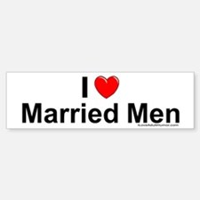 Married Men Bumper Bumper Sticker