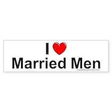 Married Men Car Sticker