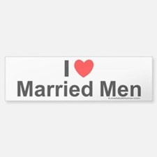 Married Men Car Car Sticker