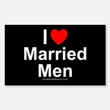 Married Men Sticker (Rectangle)