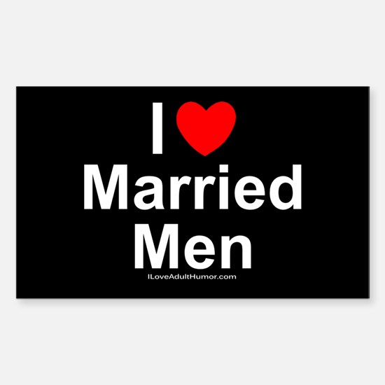 Married Men Sticker (Rectangle)