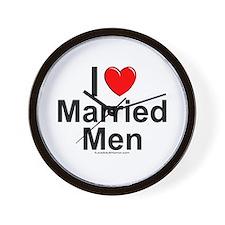 Married Men Wall Clock