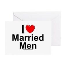 Married Men Greeting Cards (Pk of 10)