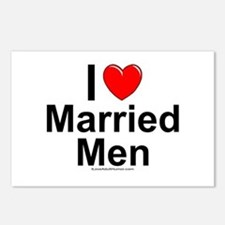 Married Men Postcards (Package of 8)