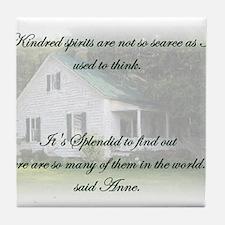 Kindred Spirits Tile Coaster