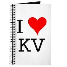 I Love KV Journal