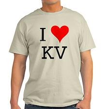 I Love KV T-Shirt