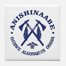 Anishinaabe Tile Coaster
