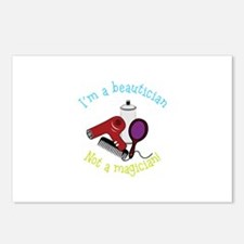Im a Beautician Not a Magician Postcards (Package