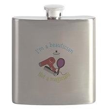 Im a Beautician Not a Magician Flask