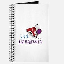 I Fix $12 Haircuts Journal