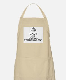 Keep Calm and Love your Sports Psychologist Apron