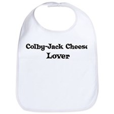 Colby-Jack Cheese lover Bib