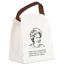 Hyacinth Superior Canvas Lunch Bag