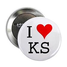 I Love KS Button