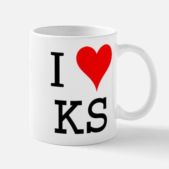 I Love KS Mug