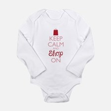 Keep Calm and Shop On Body Suit