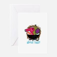 Wild About Hair Greeting Cards