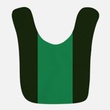 Dark Green Lines Bib