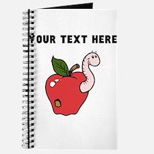 Custom Worm In Apple Journal
