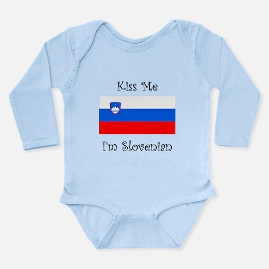Kiss Me Im Slovenian Body Suit