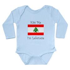 Kiss Me Im Lebanese Body Suit