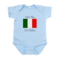 Kiss Me Im Italian Body Suit
