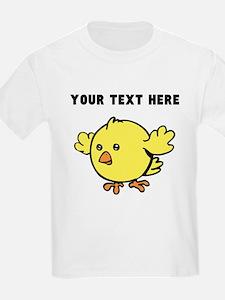 Custom Yellow Chick T-Shirt
