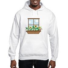 Window Flowers Hoodie